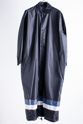 COMME des GARCONS コムデギャルソン [青山店限定ナイロンコート/黒 /S]USED中古